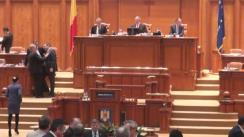 Ședința în plen a Camerei Deputaților României din 9 martie 2016