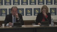 Conferință de presă după ședința biroului Politic Național al PNL din 9 martie 2016