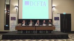 """Conferința """"DCFTA – informare eficientă pentru business-ul din Republica Moldova"""""""