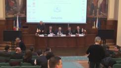 """Conferința cursdeguvernare.ro cu tema """"Politica externă: România și schimbarea ordinii internaționale. Economie și geopolitică"""""""