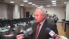 Declarațiile vicepreședintelui Confederației Naționale a Sindicatelor din Moldova, Sergiu Sainciuc, după ședința Comisiei naționale pentru consultări și negocieri colective