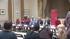 Conferința de presă dedicată turneului internațional al Orchestrei Române de Tineret