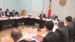Ședința de lucru a membrilor Guvernului, conducerii Parlamentului și a comisiilor permanente (imagini protocolare)