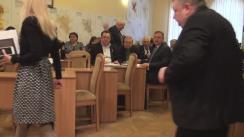Ședința săptămânală a serviciilor primăriei Chișinău din 14 martie 2016