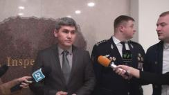 Declarațiile lui Alexandru Jizdan dupa Ședința consiliului de conducere al IGP
