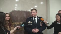 Declarațiile lui Gheorghe Cavcaliuc dupa Ședința consiliului de conducere al IGP