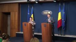 Conferință de presă după ședința Guvernului României din 11 martie 2016