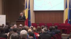 """Forumul """"Strategia de dezvoltare a României, regionalizare și convergența la euro"""", ziua I-a"""