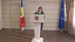 Declarațiile Lilianei Palihovici după ședința biroului permanent al Parlamentului din 16 martie 2016