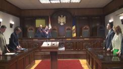 Hotărârea Curții Constituționale la sesizarea Comisiei Electorale Centrale privind validarea mandatelor de deputat în Parlamentul Republicii Moldova