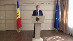 Declarațiile lui Eugen Carpov în timpul ședinței Parlamentului Republicii Moldova din 17 martie 2016