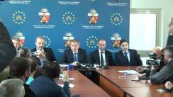 Conferință de presă susținută de prim-ministrul României, Dacian Cioloș, în timpul vizitei de lucru la Alba-Iulia