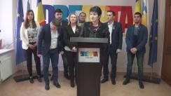 """Conferință de presă organizată de Partidul DREAPTA cu tema """"DREAPTA cheamă unioniștii să identifice un singur candidat pentru cursa prezidențială din Republica Moldova"""""""