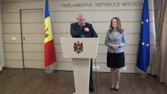 Declarațiile lui Vladimir Voronin și Inna Șupac în timpul ședinței Parlamentului din 18 martie 2016