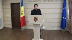 Declarațiile lui Vadim Pistrinciuc în timpul ședinței Parlamentului din 18 martie 2016