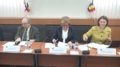 """Conferința organizată de Institutul European din România cu tema """"Lansare studii SPOS 2015"""""""