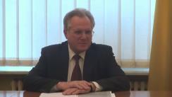 Briefing susținut de domnul Teofil Rendiuk, Însărcinat cu Afaceri a.i. al Ucrainei în România, privind sentița ilegibilă ale instanței ruse față de Nadia Savchenko