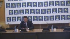 Conferința de presă susținută de deputații PNL, Mihai Voicu și Alexandru Nazare
