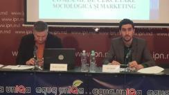 Conferința de presă organizată de Ziarul TIMPUL și Fondul Opiniei Publice privind Prezentarea unui sondaj de opinie socio-politic