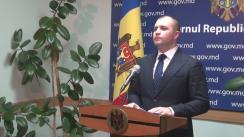 Declarațiile lui Vladimir Cebotari după ședința Guvernului Republicii Moldova din 23 martie 2016