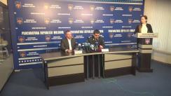 Conferință de presă organizată de Procuratura Generală privind reținerea membrilor unei grupări criminale, specializate în punerea în circulație a banilor falși, în proporții desosebit de mari