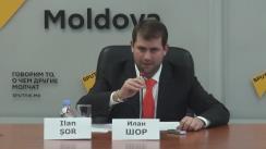 Conferință de presă susținută de Ilan Shor privind fraudele de la Banca de Economii