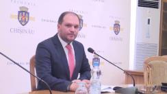 Declarațiile lui Ion Ceban după ședința săptămânală a serviciilor primăriei Chișinău din 28 martie 2016