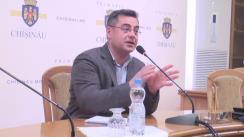 Declarațiile lui Ilian Cașu după ședința săptămânală a serviciilor primăriei Chișinău din 28 martie 2016