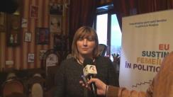 """Declarațiile Lilianei Palihovici după clubul de presă """"Femeile în politică – de ce batem pasul pe loc timp de 10 ani"""""""