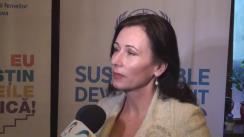 """Declarațiile Lorettei Handrabura după clubul de presă """"Femeile în politică – de ce batem pasul pe loc timp de 10 ani"""""""