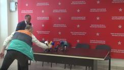 Conferință de presă susținută de Igor Dodon și Zinaida Greceanîi