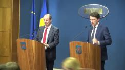 Conferință de presă după ședința Guvernului României din 30 martie 2016