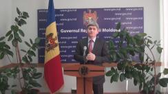 Declarațiile lui Alexandru Jizdan după ședința Guvernului Republicii Moldova din 30 martie 2016