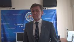 Declarațiile lui Iurie Ciocan după ședința Comisiei Electorale Centrale din 31 martie 2016
