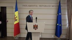 Declarațiile lui Iurie Leancă în timpul Ședinței Parlamentului Republicii Moldova din 31 martie 2016