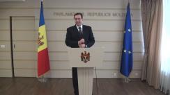 Declarațiile lui Marian Lupu în timpul Ședinței Parlamentului Republicii Moldova din 31 martie 2016