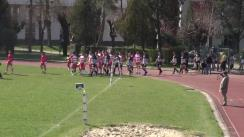 Meciul de Rugby între CS Universitatea Cluj - CS Dinamo București. Cupa României 2016