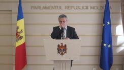 Declarațiile lui Oleg Reidman în timpul ședinței Parlamentului Republicii Moldova din 1 aprilie 2016