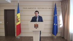 Declarațiile lui Vadim Pistrinciuc în timpul ședinței Parlamentului Republicii Moldova din 1 aprilie 2016