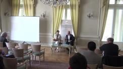 """Dezbaterea organizată de Fundația Europeană Titulescu cu tema """"Covering Foreign Policy - Republica Moldova"""""""
