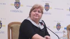 Declarațiile Tatianei Nagnibeda-Tverdohleb după ședința săptămânală a serviciilor primăriei Chișinău din 4 aprilie 2016