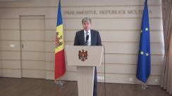 Declarațiile lui Eugen Carpov în timpul ședinței Parlamentului Republicii Moldova din 7 aprilie 2016