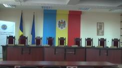 Briefing susținut de președintele Comisiei Electorale Centrale, Iurie Ciocan