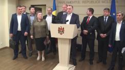 Declarația fracțiunii PSRM în timpul Ședinței Parlamentului Republicii Moldova din 8 aprilie 2016