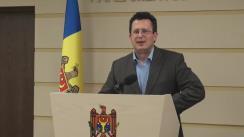 Declarațiile lui Vadim Pistrinciuc după Ședința Parlamentului Republicii Moldova din 8 aprilie 2016
