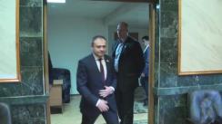 Prezentarea noului Guvernator al Băncii Naționale, Sergiu Cioclea