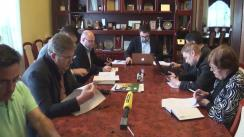 Ședința Comisiei de supraveghere a procesului de introducere a votului electronic și transmiterii on-line a ședințelor Consiliului Municipal Chișinău