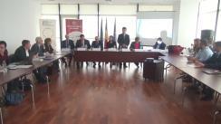 """Dezbaterea """"Cooperarea transfrontalieră între România și Ucraina, respectiv între România și Republica Moldova. Oportunități și provocări în perioada 2014-2020"""""""