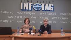 """Conferința de presă organizată de Centrul Analitic Expert-Grup cu tema """"Monitorizarea rapoartelor Curții de Conturi din semestrul II, 2015"""""""