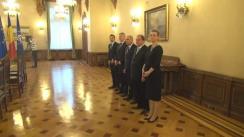 Consultarea președintelui României, Klaus Iohannis, cu grupul parlamentar PNL privind legislația în domeniul securității naționale